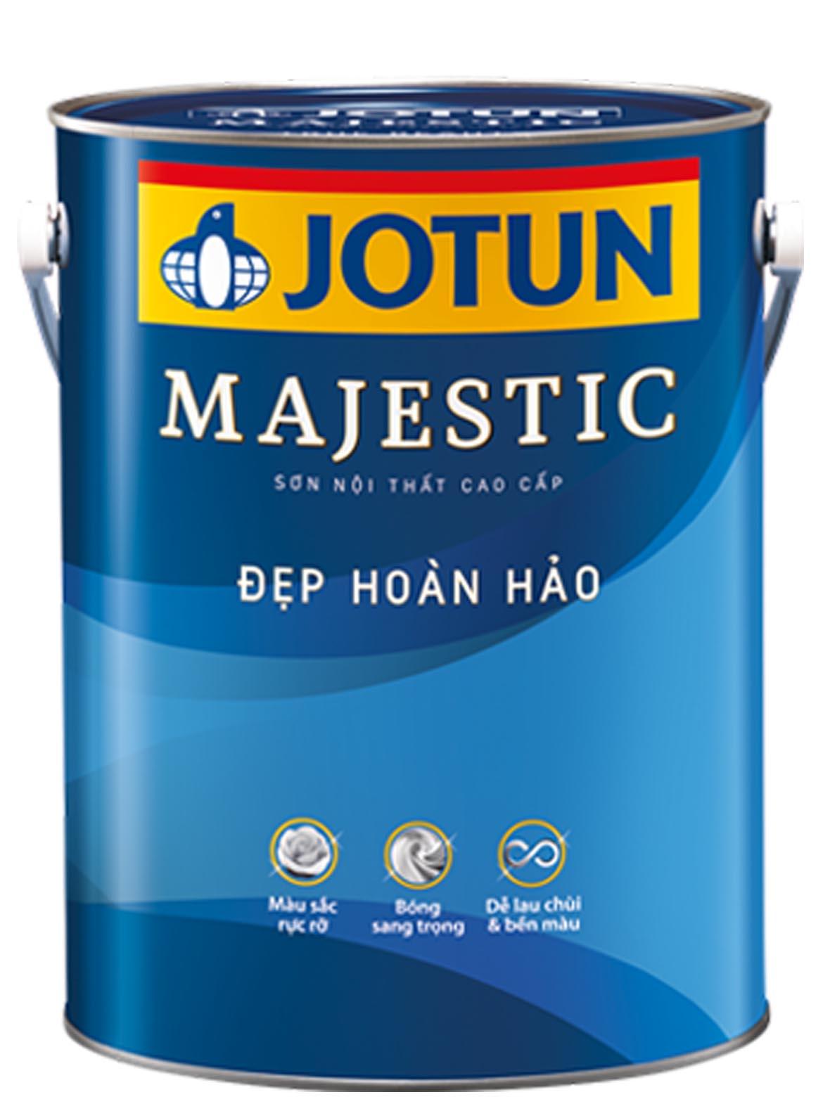 Sơn nội thất Jotun Majestic – Đẹp Hoàn Hảo (bóng)